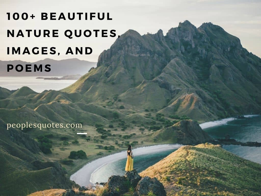 Beautiful Nature Quotes, Images, and Poems