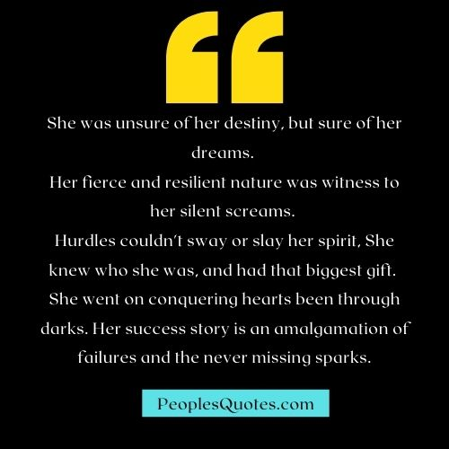 Inspirational Determination Quotes For Woman