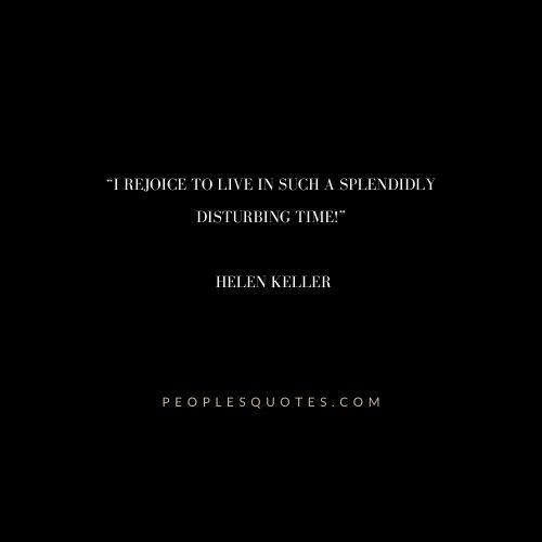 Funny Helen Keller Quotes