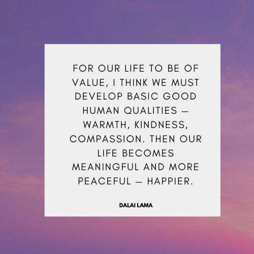 Dalai Lama quotes on Kindness