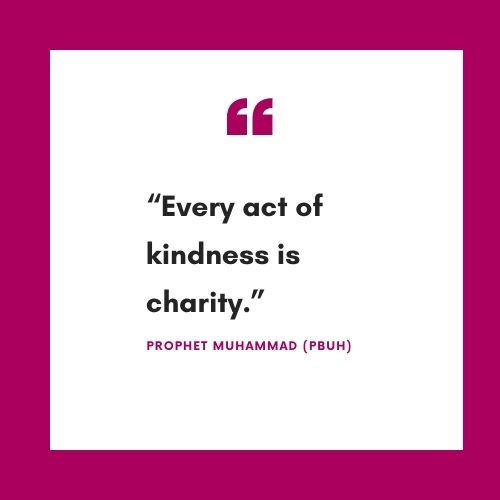 Kindness Quotes by Prophet Muhammad (Peace be upon him)