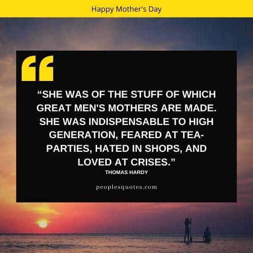Happy Mothers day heartfelt quotes