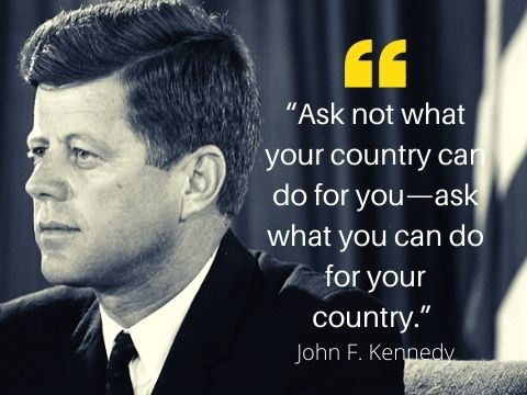 JFK Motivational Quotes For 4th of July