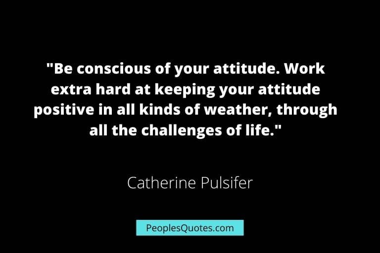 inspiring quotes about attitude