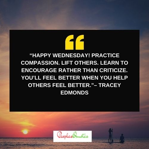 Happy Wednesday Quotes for Work