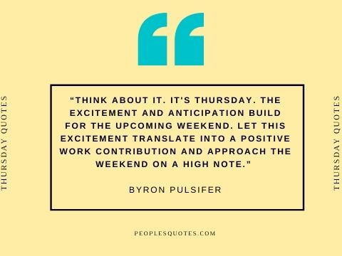 Motivational work quotes for Thursday