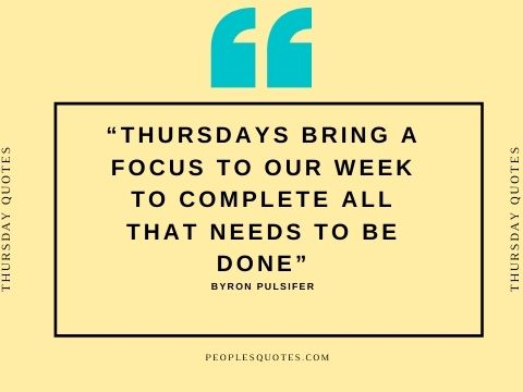motivational work quotes Thursday