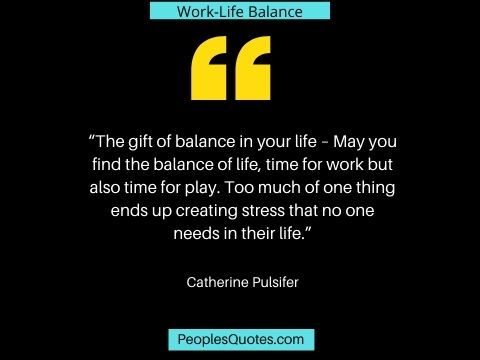 life and work balance quotes
