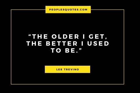 Best Lee Trevino Quote