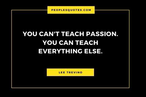 Lee Trevino life quote