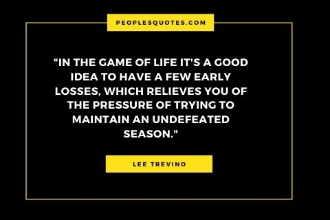 Lee Trevino quote about pressure